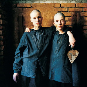Dima and Maksim, Sentenced for Violence and Robbery, Brick building Class, Juvenile Prison for Boys, Russia 2009