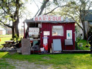 """Rusty's Bar-B-Que"", Rose Bud, Texas, 2003"