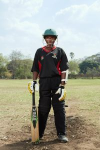 Shalani, allrounder, Malawian Under 19 Women's Cricket Team, Blantyre, Malawi, 2016.
