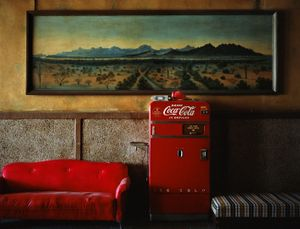 Lounge Painting# 1, Gila Bend, Arizona, 1983
