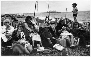Brighton Beach, West Susex, 1966. Tony Ray-Jones © The National Media Museum, Bradford, UK
