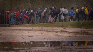 Barcs, Hungary (2015).  Croatia-Hungary border.