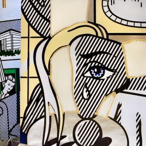 Girl with Tear, 1992, from the series Inside Roy Lichtenstein's Studio © Laurie Lambrecht, 19901992
