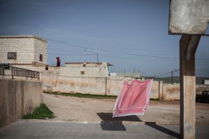 © Maciej Moskwa/TESTIGO.pl March 2013, Playground in Alnkair, Hama province.