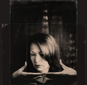 Perception is Reality © Blake Wylie This is a layered clear glass ambrotype. Two 8x10 ambrotypes scanned on top of each other. This set is mounted together with about one inch of separation.