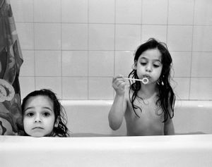 Bubbles in the Bath, Brookline 2004