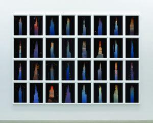 BUILDINGS MADE OF SKY III, installation, 2009 © Peter Wegner