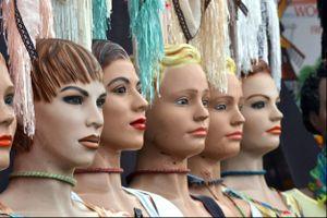 Mannequins, Street Market, Amsterdam, 2015