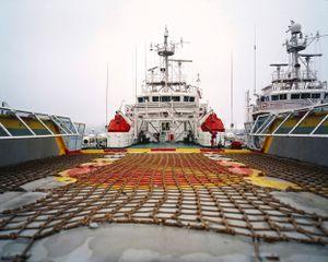 Coast Guard ship, Primorsky Krai.         © Maria Gruzdeva