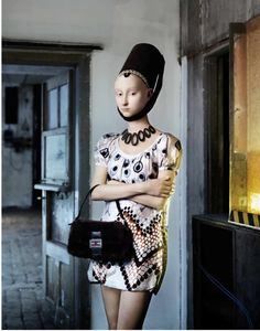 Prada Girl, 2012 © Dorothee Golz, Charim Galerie