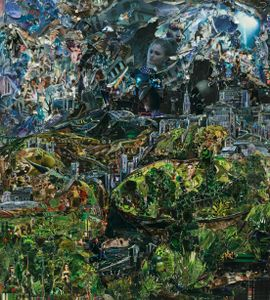 View of Toledo, in the style of El Greco, 2013 © Vik Muniz