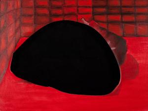 Red  still life 18x20