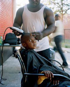 Haircut, Cabrini_Green, Chicago