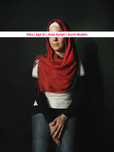 Hiba, Age: 31, Occupation: UN volunteer, Nationality: Arab Syrian, Religion: Sunni Muslim
