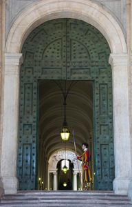 Watch out for the Swiss guard
