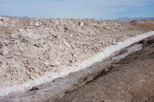 Salt Mine near Amboy, CA