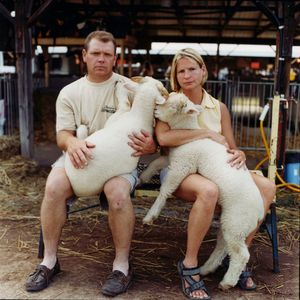 Couple © Dan Nelken, Till the Cows Come Home: County Fair Portraits