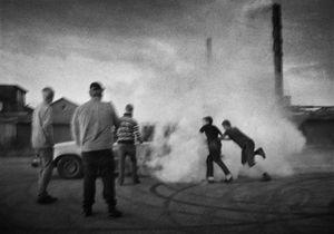 "From the photobook ""Tractor Boys"" © Martin Bogren"