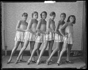Effie Moore Dancers, c.1920s Courtesy of the Archives Center, National Museum of American History, Smithsonian Institution © scurlock