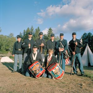 Union Soldiers, High Chaparral, High Chaparral, Hillerstorp, Sweden, 2008