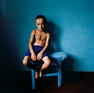 Boy on a Stool, Ukraine 2006