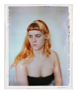 L. à la chambre, 2015. polaroid 1/3. © Léonard Bourgois-Beaulieu. Exhibitor: galerie du jour agnès b.