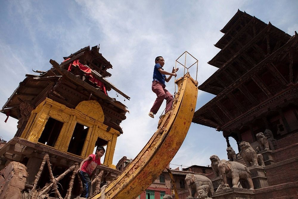 The Ground Beneath Our Feet: Two Views from Nepal