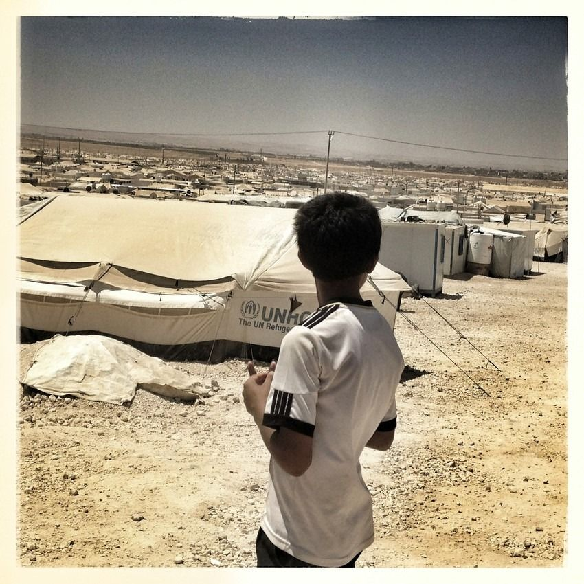 Save the Children: Teenage Syrian Refugees Transformed By Photography