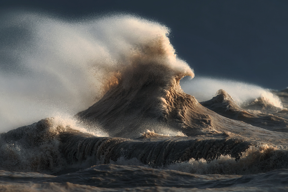 The Liquid Mountains of Lake Erie