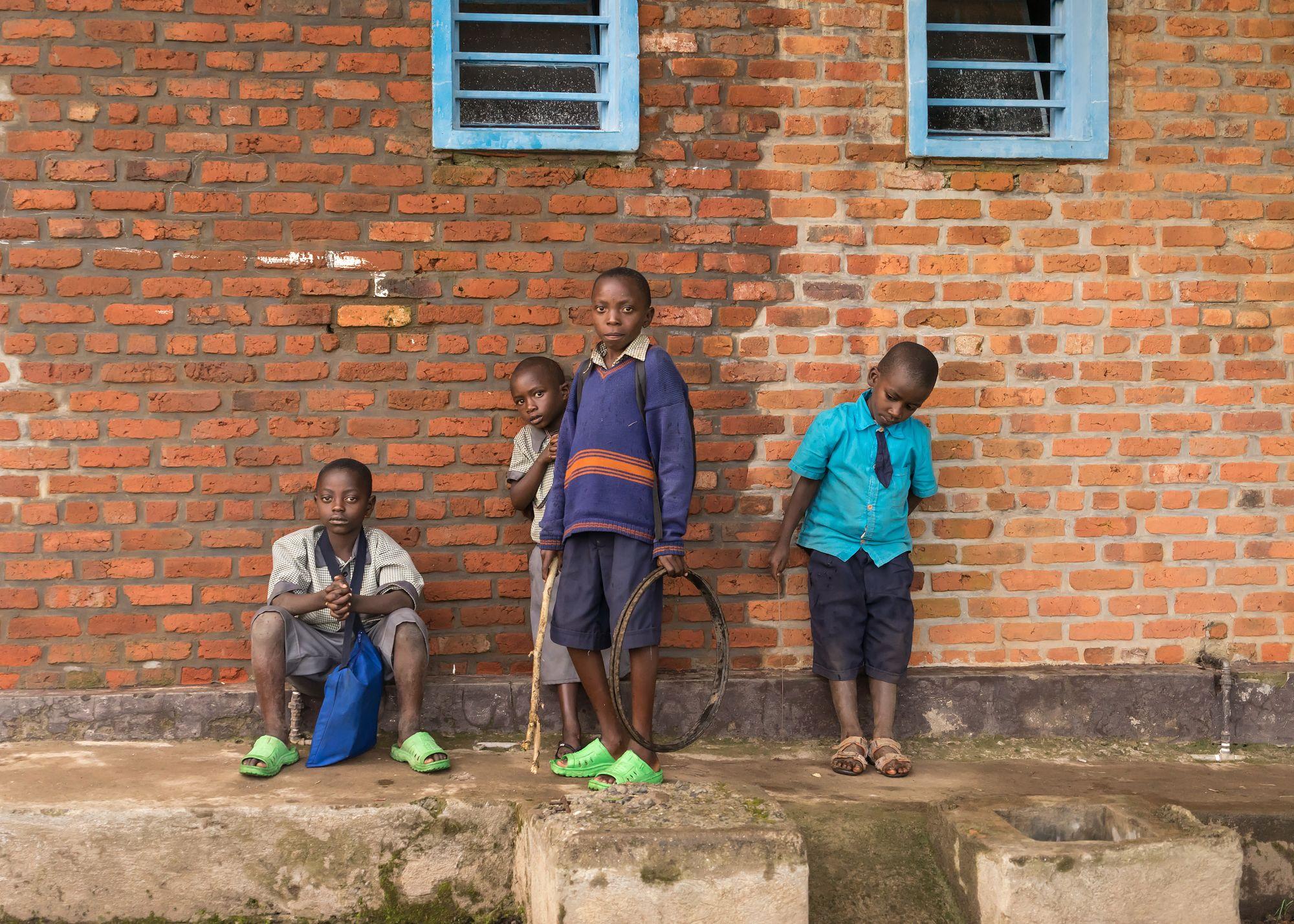 School Portrait Rwanda