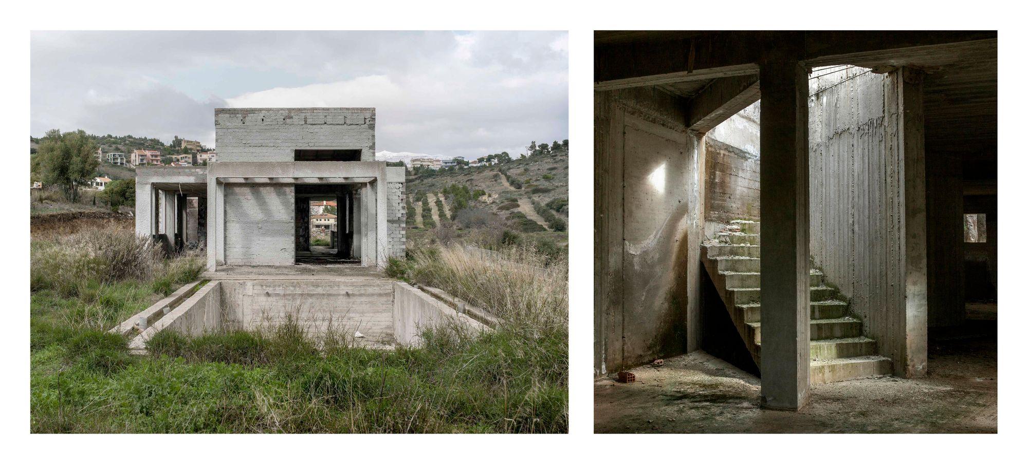 L'abandon du nid: (Modern) Greek Ruins