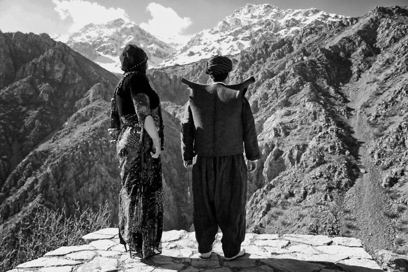 Kurdish Mysticism on the Cliffs