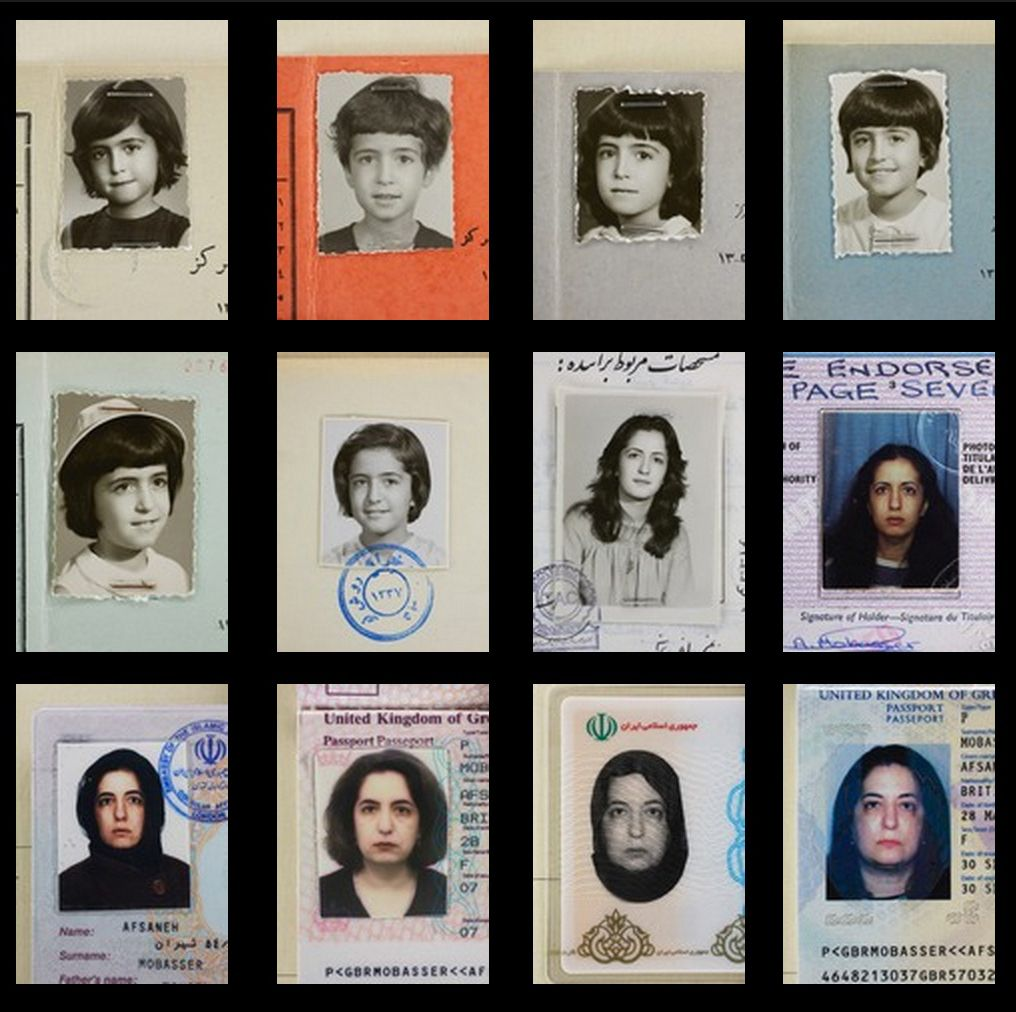 A Life Told with ID Photos
